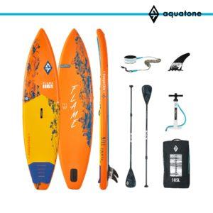 tabla paddle surf sup aquatone flame 11´6 conjunto
