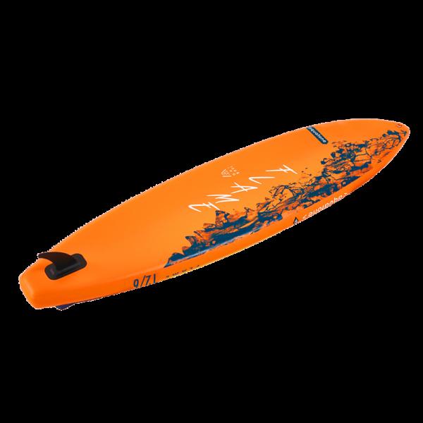 tabla paddle surf sup aquatone flame 12´6 abajo