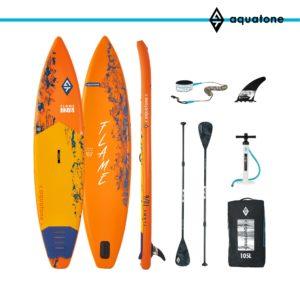 tabla paddle surf sup aquatone flame 12´6 conjunto