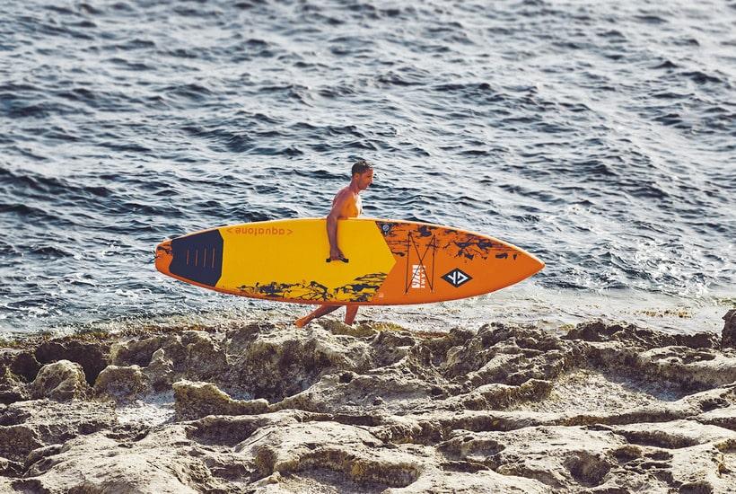 tabla paddle surf sup aquatone flame 12´6 galeria