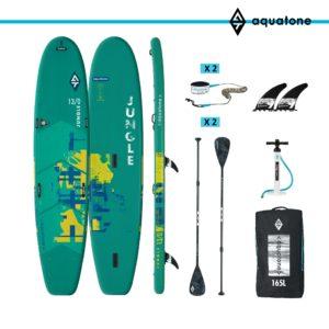 tabla paddle surf sup aquatone jungle 13´0 conjunto