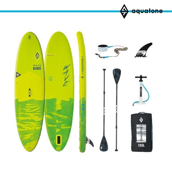 tabla paddle surf sup aquatone wave 10´6 conjunto